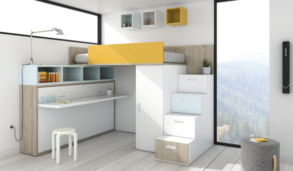 Habitaciones juveniles a medida – KB Todo Mobiliario