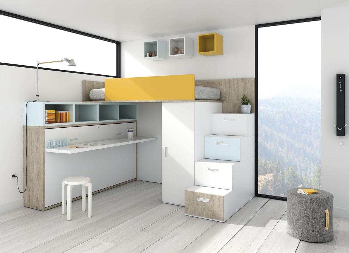 Habitaciones juveniles muebles a medida kb todo mobiliario for Muebles juveniles a medida